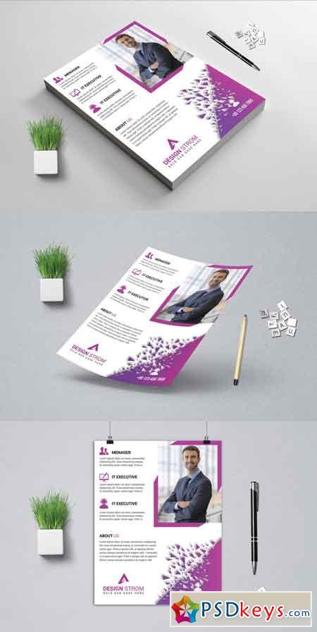 Creative Business Flyer 3522448