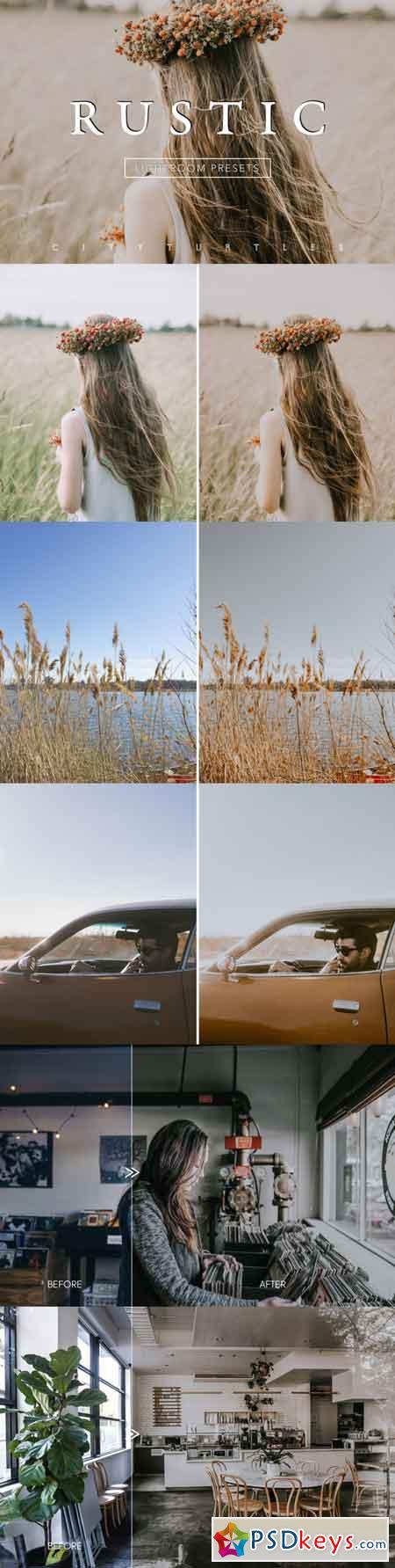 Desktop & Mobile Subtle Film RUSTIC Lightroom Presets Collection 3518985