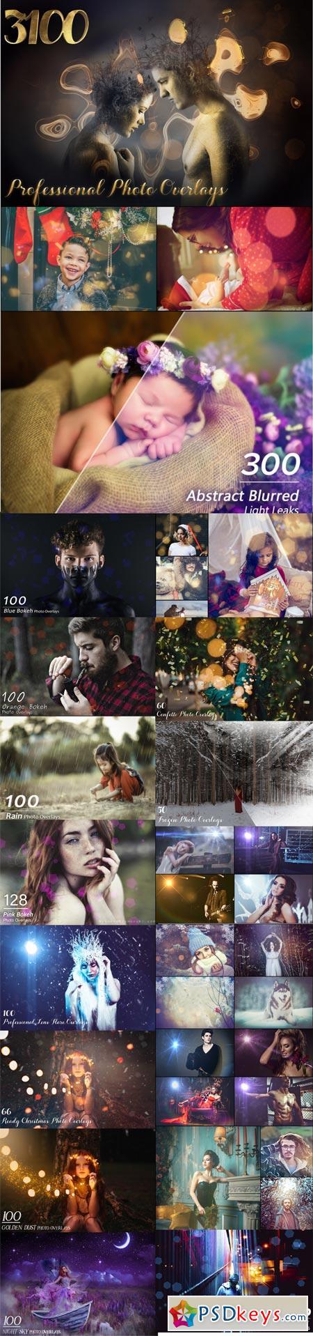 3108 Professional Photo Overlays 3520485