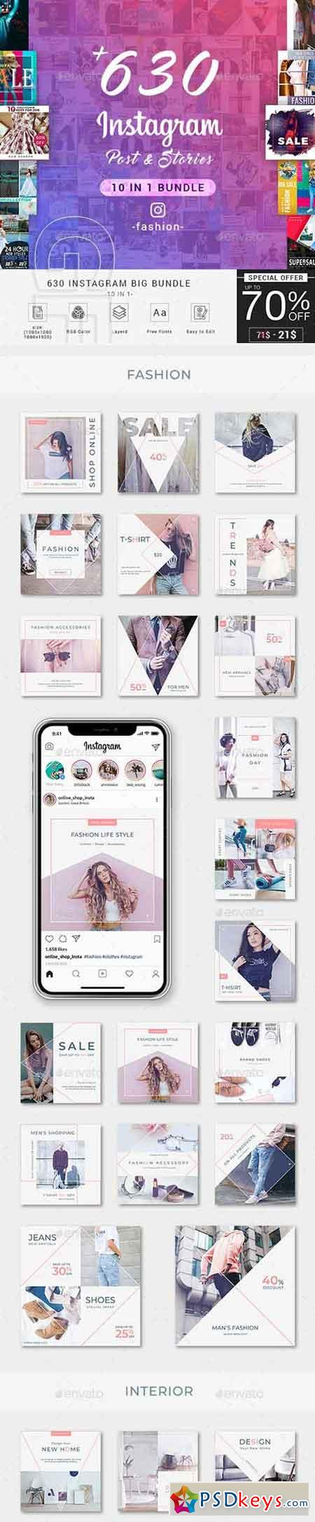 Fashion Instagram Bundle Social Media 23149117