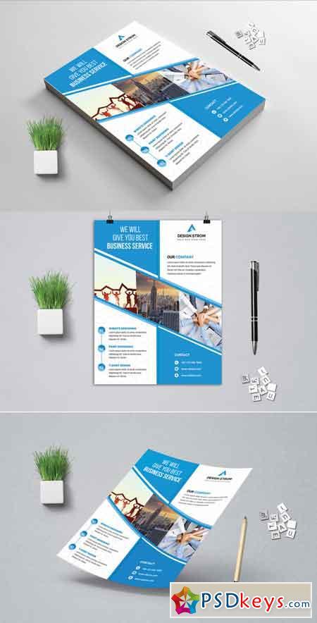 Corporat Business Flyer 3522572