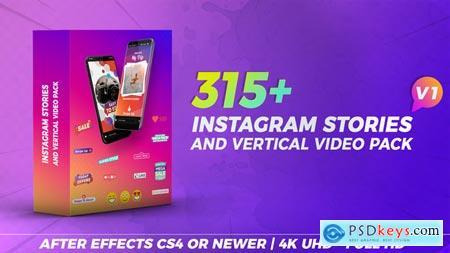 Videohive Instagram Stories & Vertical Video Pack