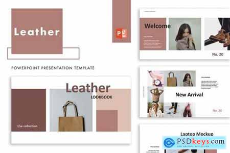 Leather - Powerpoint, Keynote, Google Sliders Templates