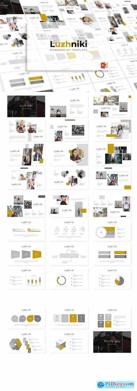 Luzhniki - Powerpoint, Keynote, Google Sliders Templates