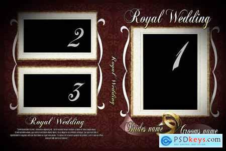 Royal Wedding PSD CD DVD Cover