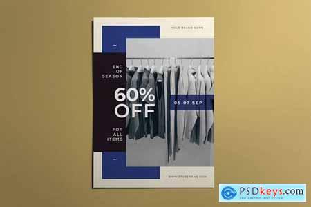 End Of Season - Fashion Flyer