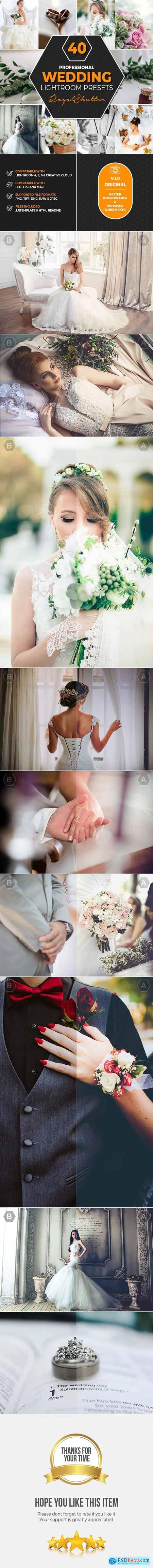 40 Pro Wedding Lightroom Presets 23150886