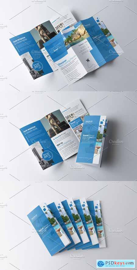 Travel & Hotel Booking Brochure 3361372