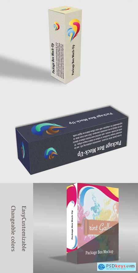 Package Box Mock-Up 4 in 1 3354998