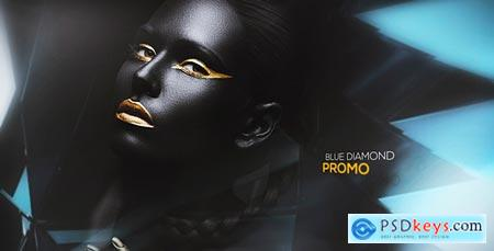Videohive Blue Diamond Promo 20660014 After Effects Project