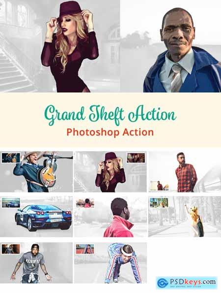 Grand Theft Action - PS Action 3162219