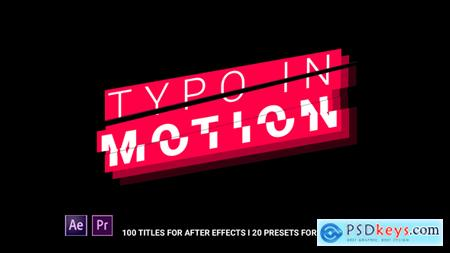 Typo In Motion 21568332 After Effects Project