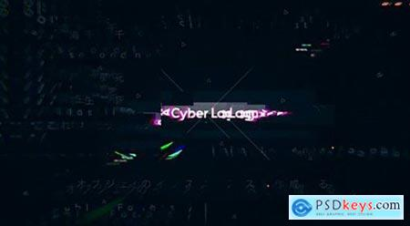Technology Cyber Logo 22174154 After Effects Project