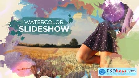 Watercolor Parallax Slideshow 22546329 After Effects Project