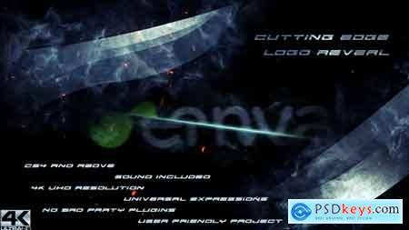 Videohive Cutting Edge Logo Reveal 19516571 After Effects Project