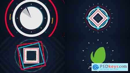 Videohive Quick Shape Logo 9164554 After Effects Project