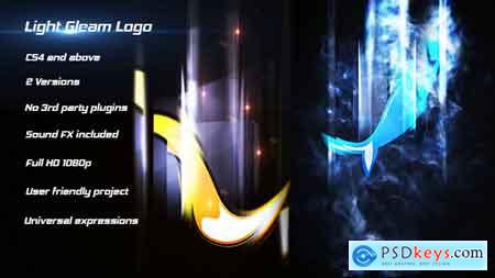 Videohive Light Gleam Logo 18766049 After Effects Project