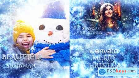 Videohive Winter Slideshow Titles 22978190 After Effects Project