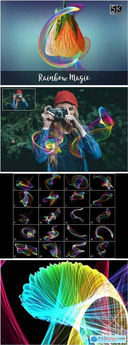 5K Rainbow Magic Overlays 2107090
