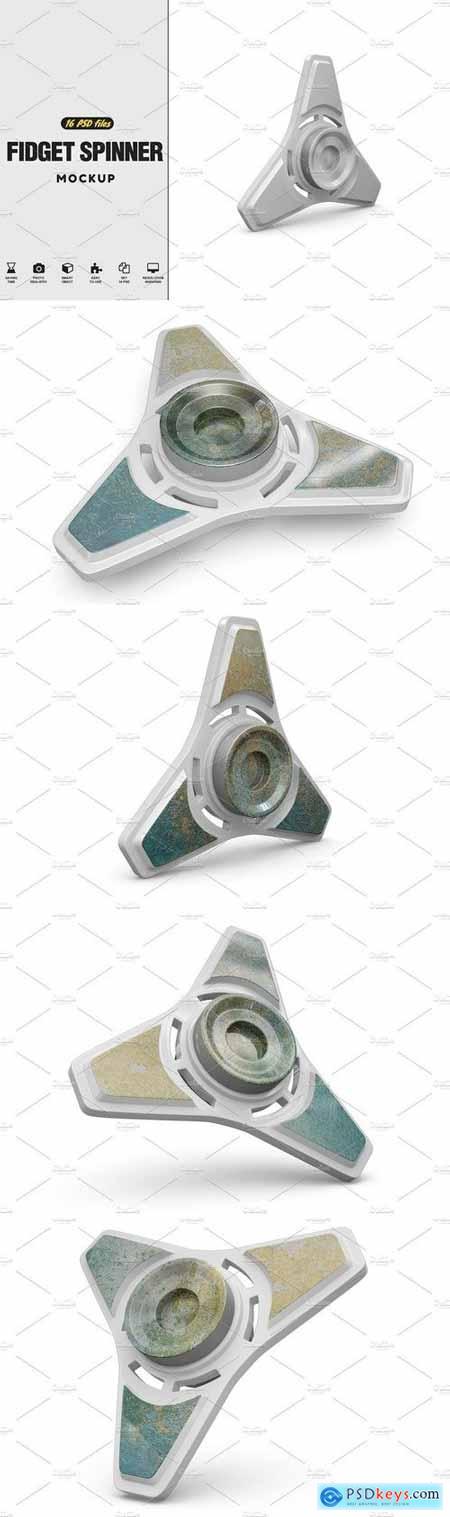 Fidget Spinner MockUp Vol.3 2108142
