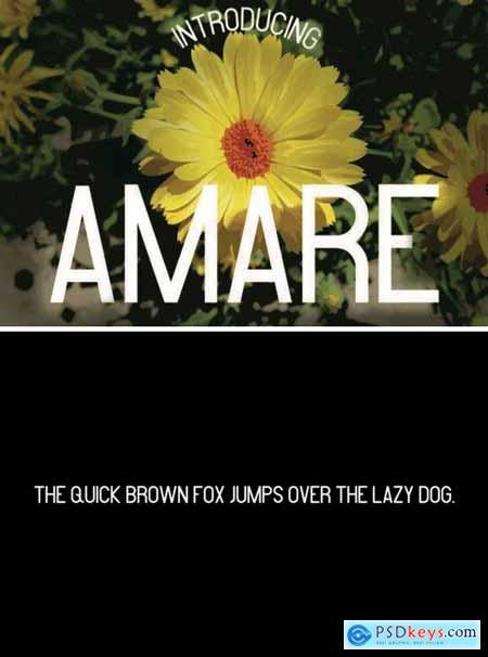 Amare Font