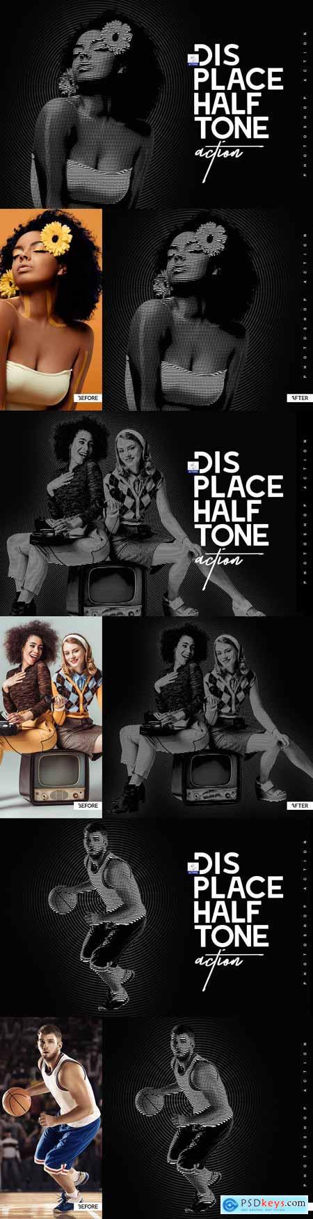 Displace Halftone 3304747