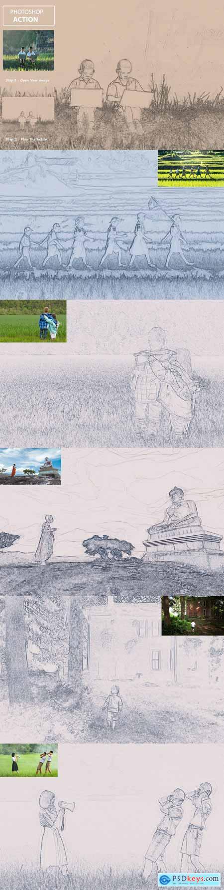 Sketch Art - PS Action 3312418