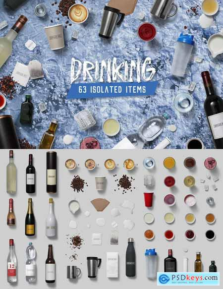Drinking - Isolated Food Items 3307676