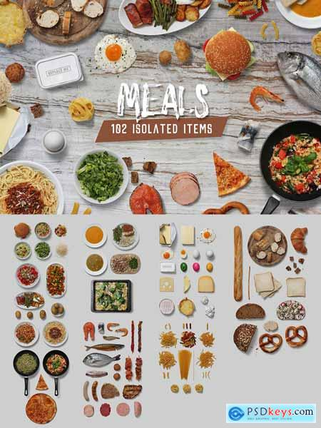 Meals - Isolated Food Items 3307691