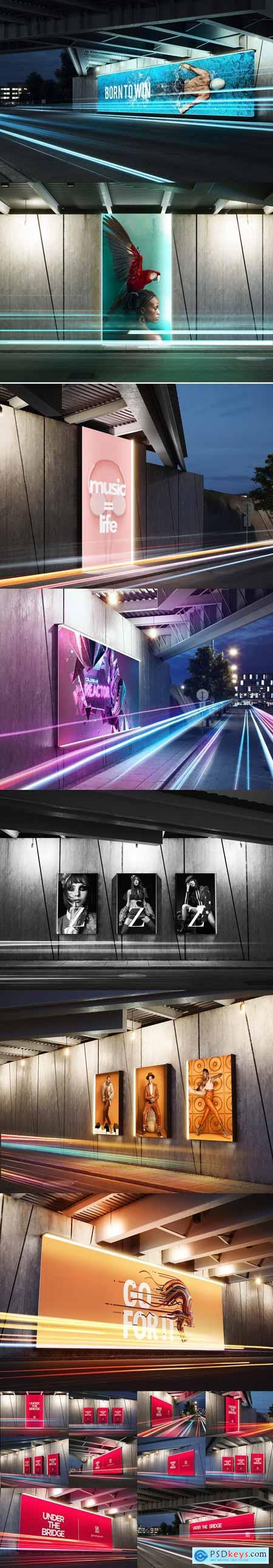 Under the Bridge - Billboard Mock-up 3400815