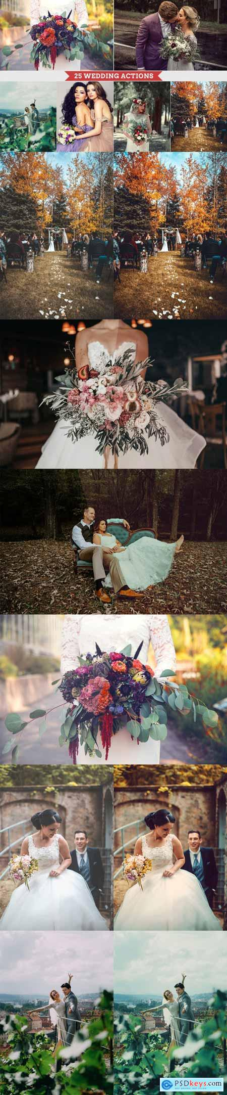 25 Wedding Photoshop Actions 3368313