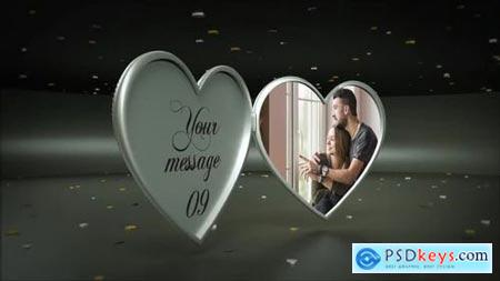 3D Rotating Heart Album 168833 After Effects Projects