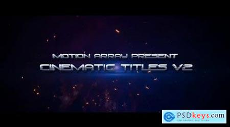 Cinematic Titles V2 167610 After Effects Projects