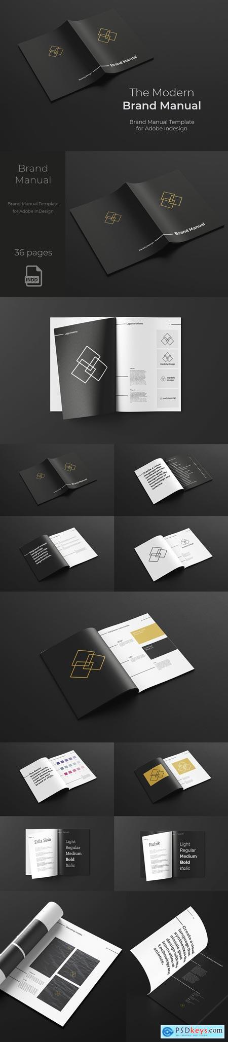 The Modern Brand Manual 3395040