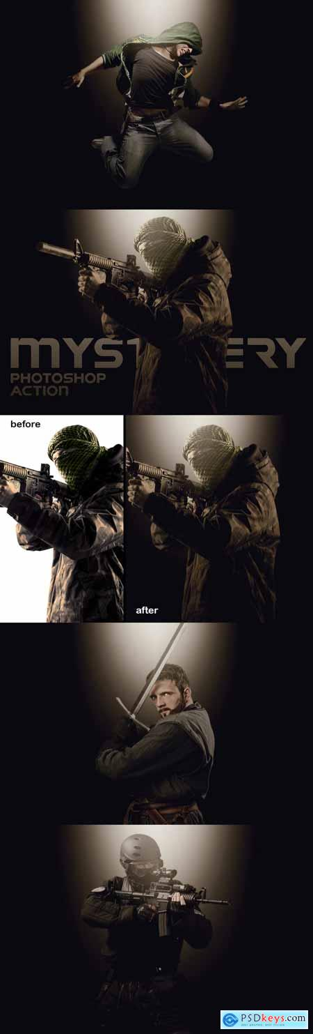 Mystery Photoshop Action 3370744