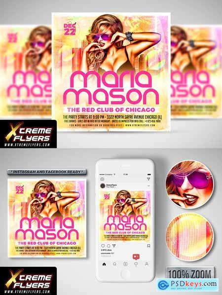 Female DJ Flyer 3374599