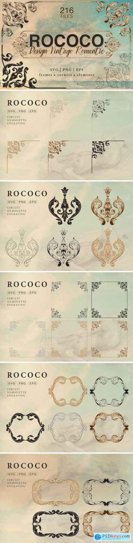 Rococo Romance Ornament page decor 3386333