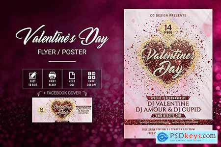 Valentine's Day Flyer 2