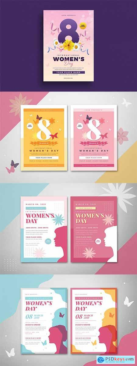 Womens Day 4 Flyers