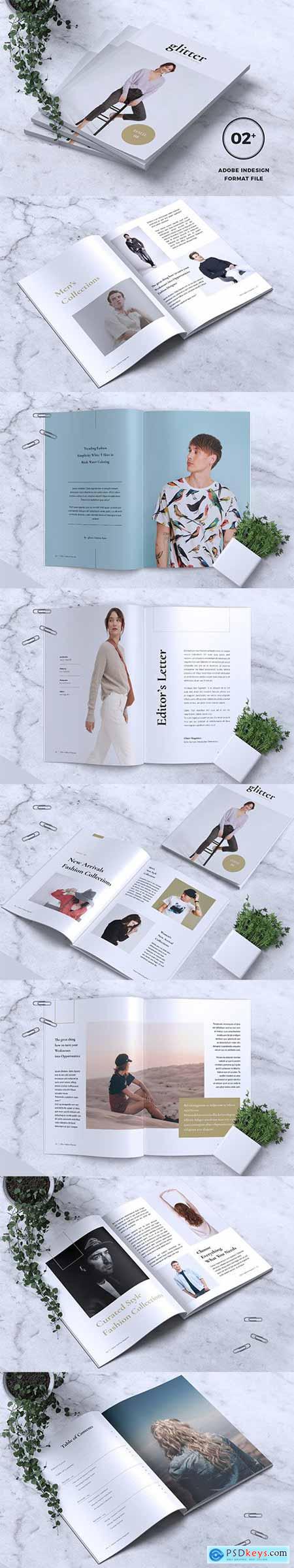 GLITTER Minimal Fashion Magazine