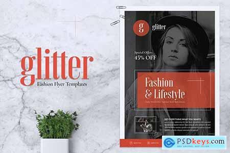 GLITTER Fashion Flyer