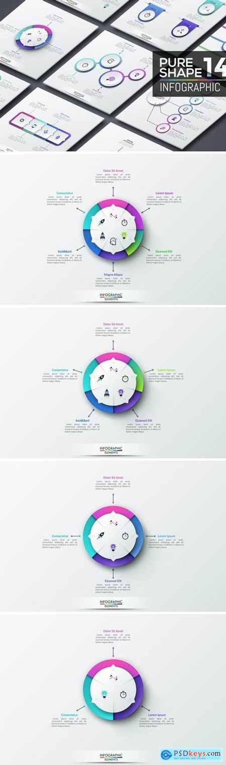 Pure Shape Infographic Part 14