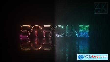 Neon Stroke Logo 23118199 After Effects Projects