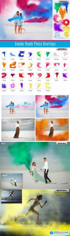 Smoke Bomb Photo Overlays 3290991