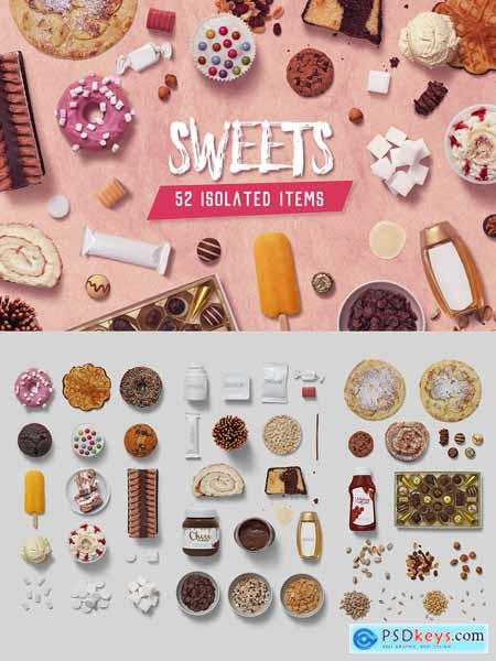 Sweets - Isolated Food Items 3309480