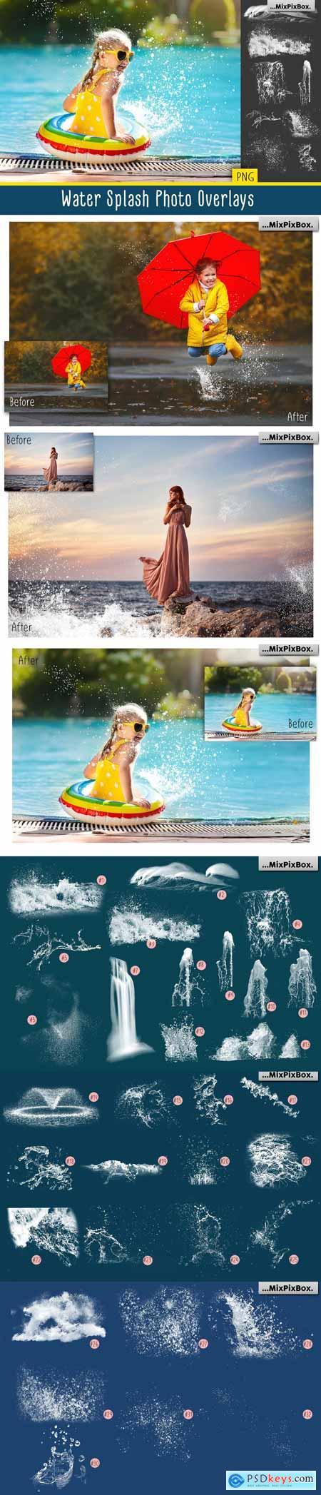 Water Splash Photo Overlays 3407296