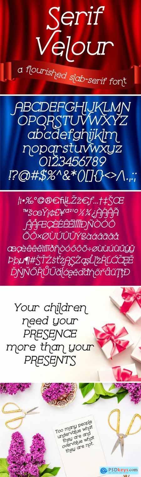 Serif Velour 198269