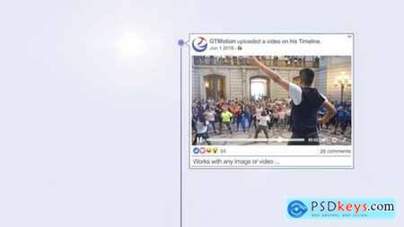Facebook Timeline Slideshow 170718 After Effects Projects