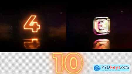 Countdown And Logo Reveal 168584 After Effects Projects