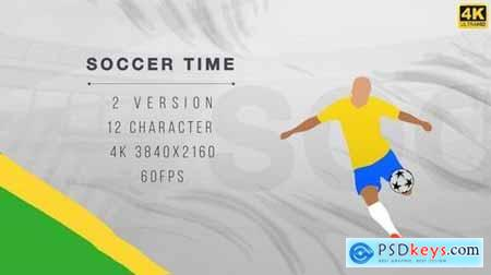 Soccer Time - Football Opener 170848 After Effects Projects